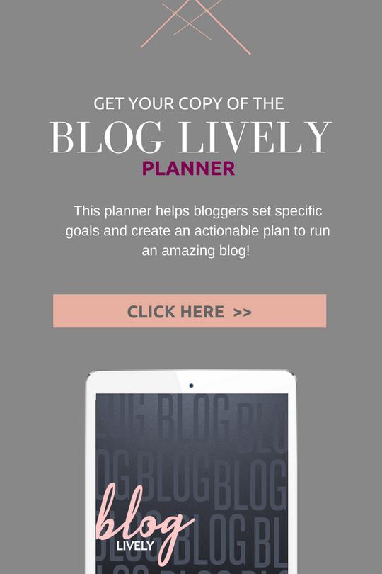 Buy Blog Lively Planner